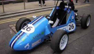 UCL Business takes to the grid at Formula Student 2007