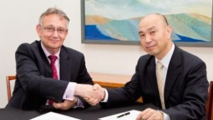 UCLB signs MoU with Kyoto University