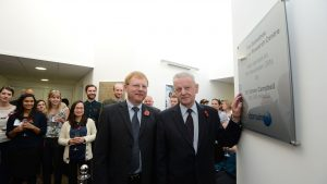 The new Domainex Medicines Research Centre is opened by Sir Simon Campbell