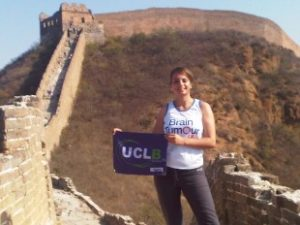 Emma Alam treks the Great Wall of China for Brain Tumour UK