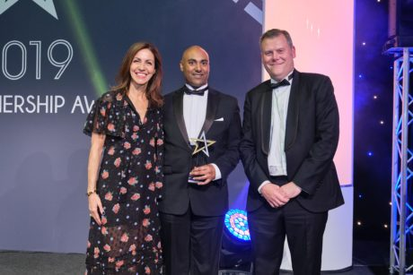 UCLB spinout Senceive wins SME of the Year at The Rail Partnership Awards 2019
